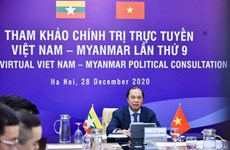 Vietnam-Myanmar 9th annual political consultation