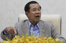 Cambodia starts crude oil production in southwestern waters