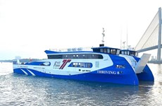 Can Gio-Vung Tau ferry service to start operation next year