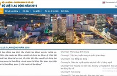 Ministry launches website on 2019 Labour Code