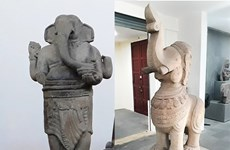 Two sculptures in Da Nang named as national treasures