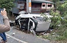 Thailand posts almost 400 traffic deaths in New Year holiday