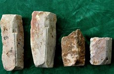 Co Loa arrowhead mould collection recognised as national treasure