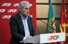 Congratulations to Portuguese Communist Party General Secretary