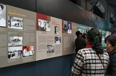 Exhibition marking 13th National Party Congress opens at Hoa Lo Prison