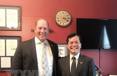 Vietnamese Ambassador to US talks with Congressman