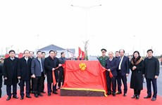 Interchange connecting Belt Road No. 3,Hanoi-Hai Phong Expressway inaugurated
