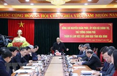 PM urges Hoa Binh province to tap potential for development