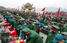 Remains of 23 martyrs reburied in Hoa Binh
