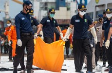 Indonesia plane crash: First victim, black box's location identified