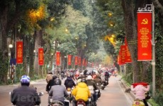 Hanoi gets facelift ahead of 13th National Party Congress