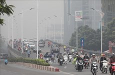 Air pollution engulfs Hanoi city
