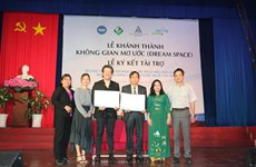 Dream Space to promote creative education in Can Tho