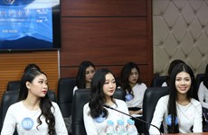 Final round of Miss University 2020 held in Hanoi