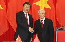 Greetings on Vietnam - China diplomatic ties anniversary