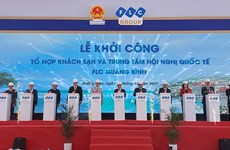 Work starts on FLC Quang Binh Beach and Golf Resort