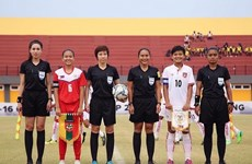 Three Vietnamese women named as elite FIFA referees