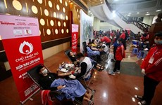 Thousands join blood donation festival in Hanoi