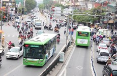 HCM City accelerating work on bus rapid transit route