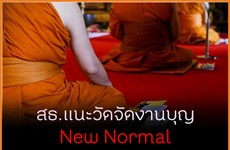 Thailand: PM's Office urges monks to observe new normal