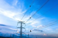 Power transmission output up 2 percent in 2020