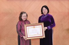 80-year-old vaccine researcher honoured with Hero of Labour title