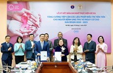Partnership agreement on breast cancer treatment signed
