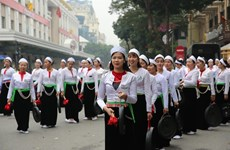 Hoa Binh culture on show in downtown Hanoi