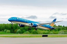 Vietnam Airlines performs nearly 30 flights on Jan 24 serving 13th Party Congress
