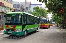 Hanoi to open four new suburban bus routes from February