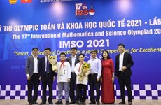 Vietnamese students win 20 medals at Int'l Mathematics and Science Olympiad