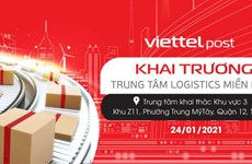 Viettel Post opens automatic logistics centre in HCM City