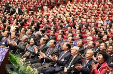 Opening of 13th National Party Congress a magnet to int'l media