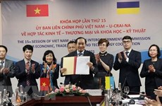 Vietnam, Ukraine beef up trade cooperation
