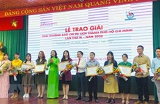 Vietnam News Agency wins three prizes of HCM City Tourism Press Awards