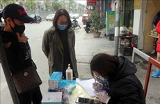 Quang Ninh residents required to fill in health declarations from February 3