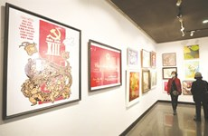 Vibrant spring energy on show in new art exhibition