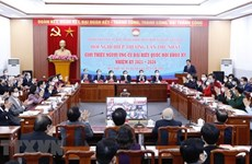 First consultation conference on nomination for National Assembly deputies