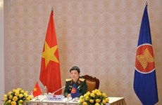 Vietnam attends ASEAN Defence Senior Officials' Meeting Working Group