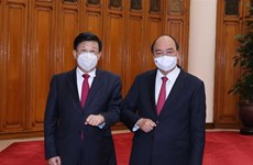 PM Nguyen Xuan Phuc receives Chinese Minister of Public Security