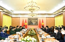 Defence Minister receives Chinese Minister of Public Security