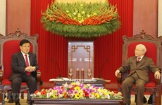 Top leader welcomes Chinese Minister of Public Security
