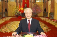 More congratulations flow in for Party leader Nguyen Phu Trong