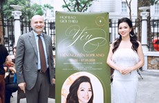 Vietnamese soprano to pay tribute to Italy in debut concert