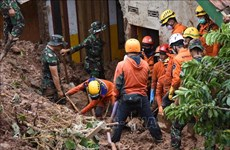 At least five killed, 70 missing after landslides in Indonesia's gold mine
