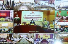 Training teleconference for NA election held nationwide