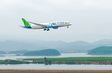 Bamboo Airways resumes flights to Van Don Airport