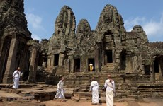 Angkor welcomes over 4,000 foreign arrivals in two months