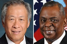 Singapore, US reaffirm bilateral defence ties