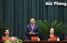 PM Nguyen Xuan Phuc meets Hai Phong voters